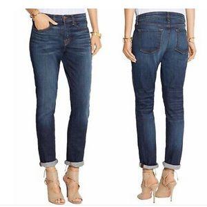 J Brand dark slim boyfriend jeans